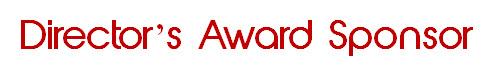 Directors Award Sponsor